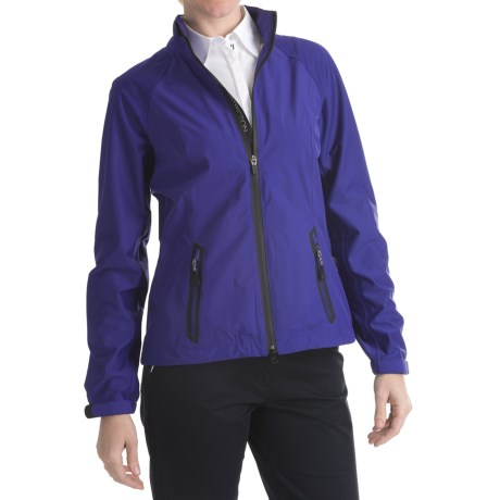 Zero Restriction Hybrid Packable Jacket - Waterproof (For Women)
