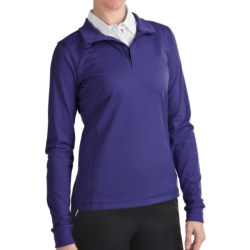Zero Restriction Z400 Zip Mock Shirt - Long Sleeve (For Women)