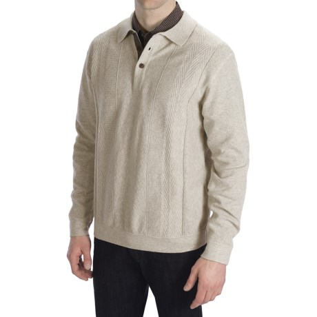 Nat Nast Standing Room Only Sweater - Cotton-Wool (For Men)
