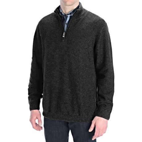 Nat Nast Detour Pullover - Zip Neck (For Men)