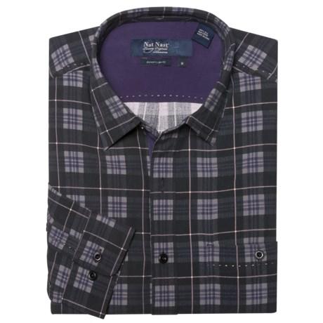 Nat Nast Silk One O'Clock Jump Sport Shirt - Long Sleeve (For Men)