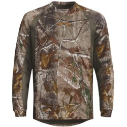 Scent-Lok® Ambush Carbon Alloy Top - Lightweight, Long Sleeve (For Big Men)