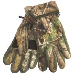 Scent-Lok® Timberfleece Carbon Alloy Bowhunter Release Gloves (For Men)