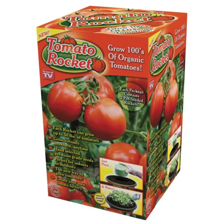 Garden Innovations Pre-Seeded Tomato Rocket