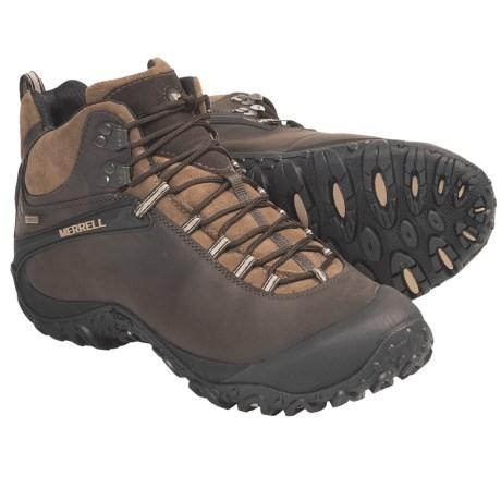 Merrell Chameleon 4 Mid Hiking Boots - Waterproof (For Men)