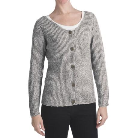 ALPS Soft Focus Cardigan Sweater (For Women)