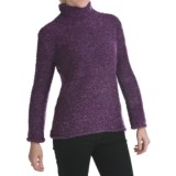 ALPS Annalise Tweed Turtleneck Sweater (For Women)