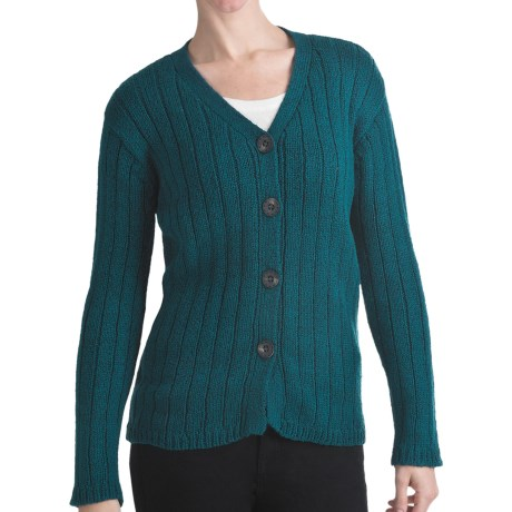 ALPS Bristlecone Cardigan Sweater - Cotton (For Women)