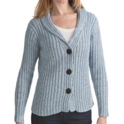 ALPS Briana Cardigan Sweater - Shawl Collar (For Women)