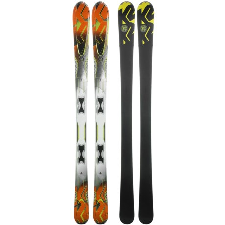 K2 A.M.P. Impact Skis with Marker MX 11.0 TC Bindings