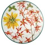 Lulu DK Petals Porcelain Dinner Plates - Set of 4