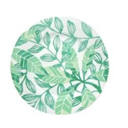 Lulu DK Leaf Porcelain Dinner Plates - Set of 4