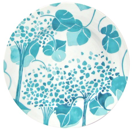 Lulu DK Hydrangea Porcelain Dinner Plates - Set of 4