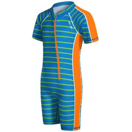 Level Six Apollo Sunsuit - UPF 50+, Elbow Sleeve (For Boys)