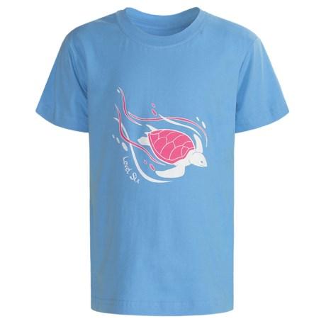 Level Six Cruisin Turtle T-Shirt - Organic Cotton, Short Sleeve (For Girls)