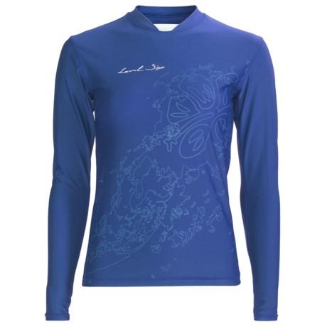 Level Six Coastal Rash Guard Shirt - UPF 50+, Loose Fit, Long Sleeve (For Women)