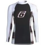 Level Six Venus Rash Guard Shirt - UPF 50+, Long Sleeve (For Women)