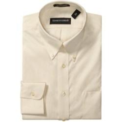 Kenneth Gordon Wrinkle-Free Pinpoint Cotton Dress Shirt - Long Sleeve (For Men)