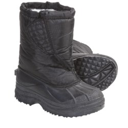Non-Quilted Lined Snow Boots (For Kids and Youth)