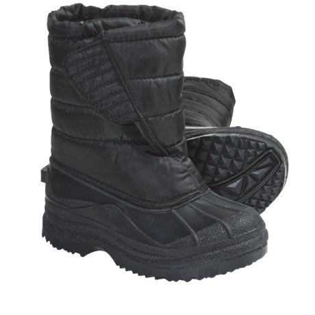 Quilted Lined Snow Boots (For Kids and Youth)