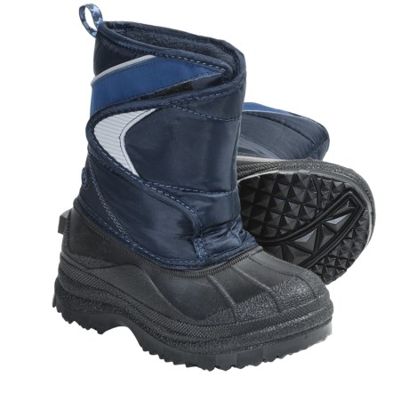 Two-Tone Lined Snow Boots (For Kids and Youth)