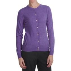 Merino Wool Cardigan Sweater (For Women)