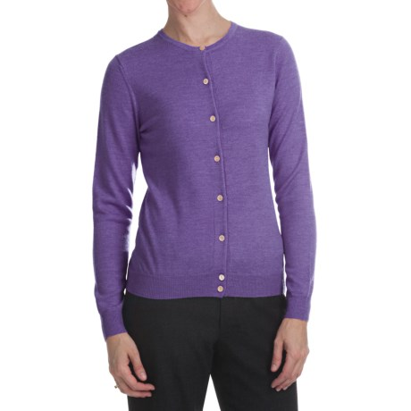 Merino Wool Cardigan Sweater (For Women)