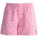 Cotton Flannel Dormwear Shorts (For Women)