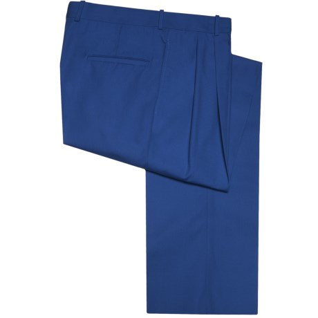 Corbin Prime Poplin Pants - Pleated (For Men)