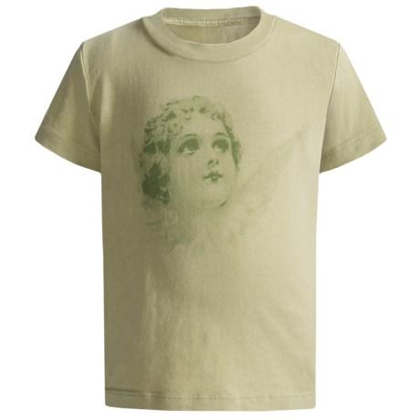 Screen Print T-Shirt - Short Sleeve (For Girls)