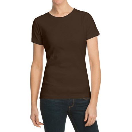 Essential Cotton T-Shirt - Short Sleeve (For Women)