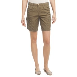 Ripstop Cargo Shorts (For Women)