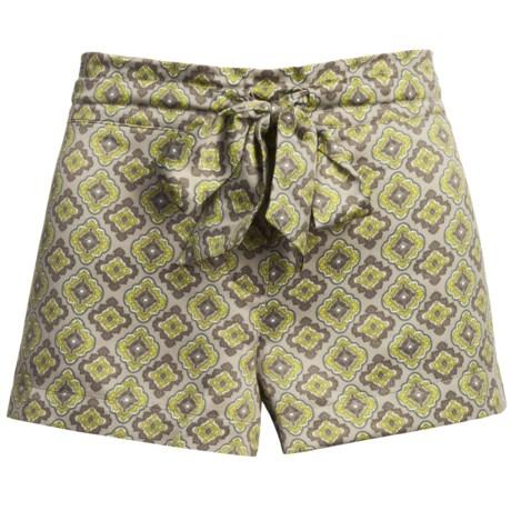 Satin Sleepwear Shorts (For Women)