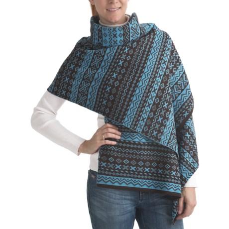 Neve Kay Ultrafine Merino Wool Shawl (For Women)