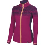 Neve Josephine Ultrafine Merino Wool Zip Sweater (For Women)