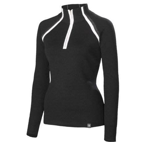 Neve Sarah Sweater - Merino Wool, Zip Neck (For Women)