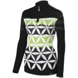 Neve Julia Ultrafine Merino Wool Sweater - Zip Neck (For Women)
