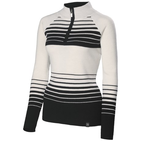 Neve Hailey Sweater - Merino Wool, Zip Neck, Long Sleeve (For Women)