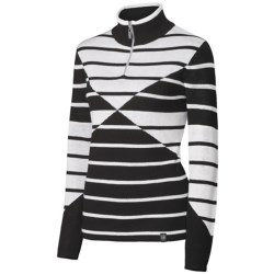 Neve Lindsey Sweater - Merino Wool, Zip Neck, Long Sleeve (For Women)