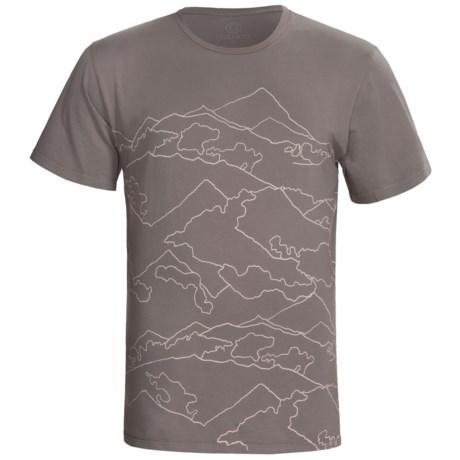 Gramicci Mountain T-Shirt - Organic Cotton, Short Sleeve (For Men)