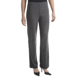 Houndstooth Pull-On Pants (For Women)