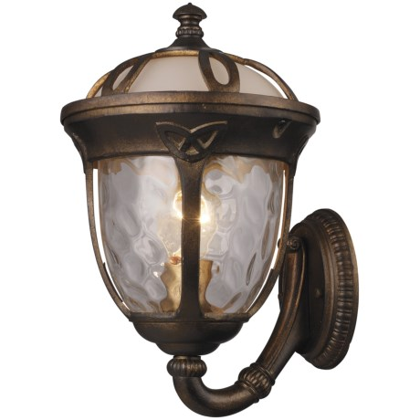 Elk Lighting Windsor 1-Light Outdoor Wall Sconce - Large