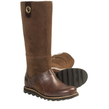 Sorel Wicked Workboot Tall Boots - Leather (For Women)