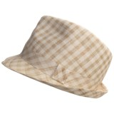 Country Gentleman Remy Fedora Hat - Linen (For Men)