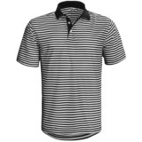 Wedge Athletic Tech Pique Polo Shirt - Short Sleeve (For Men)
