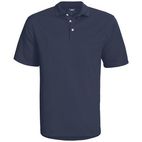 Wedge Sphere High-Performance Polo Shirt - Short Sleeve (For Men)