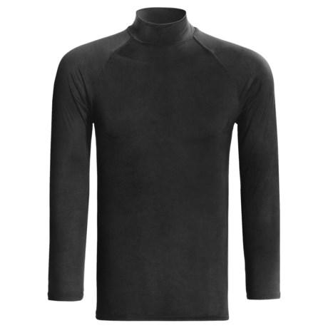 Specially made Moisture-Wicking Mock Turtleneck - Long Sleeve (For Men)