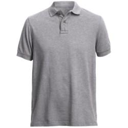 Pique Polo Shirt - Short Sleeve (For Men)