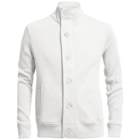 Chase Edward Cotton Knit Jacket (For Men)