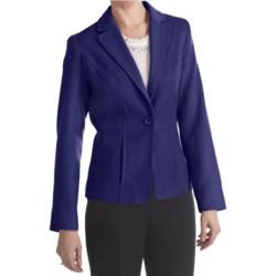 Louben Luxe Wool-Cashmere Blazer (For Women)